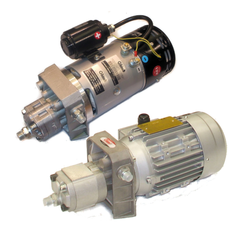 "GHIM Hydraulics has recently designed a whole range of motor-pumps named ""TESLA"" with: